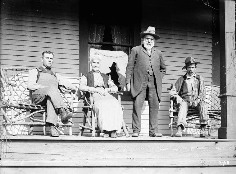 N.W. Williams and family. (item 1)