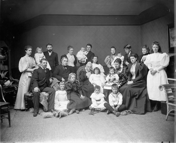 Sir Charles Tupper and family. (item 1)