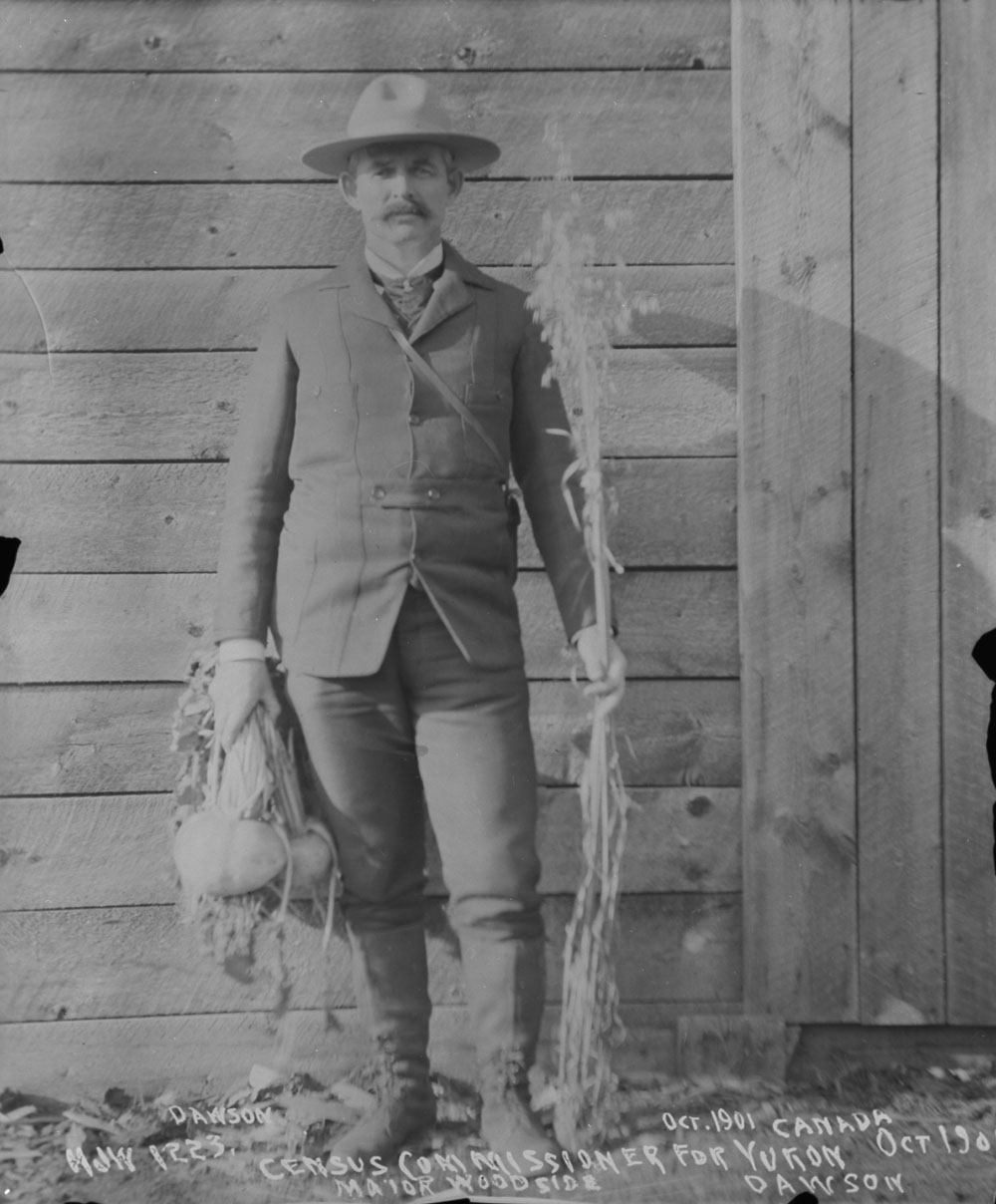 Major Henry Joseph Woodside, Census Commissioner, Yukon, 1901.