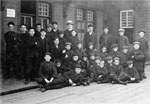 Immigrant Boys for the St. George's Home, Hintonburg, 1908