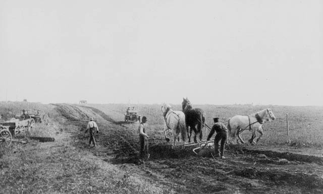 Road building on the Doukhobor community estate. (item 1)