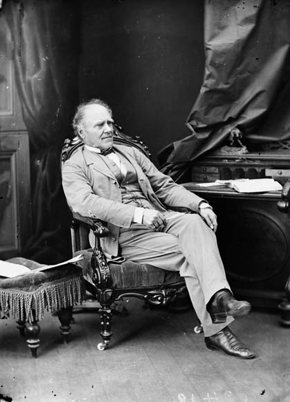 Hon. Joseph Howe (Secretary of State for the Provinces) b. Dec. 13, 1804 - d. June 1, 1873. (item 1)