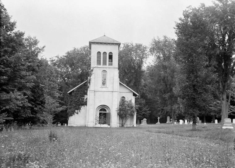 St. Thomas Church of England, Shanty Bay, Ontario. (item 1)