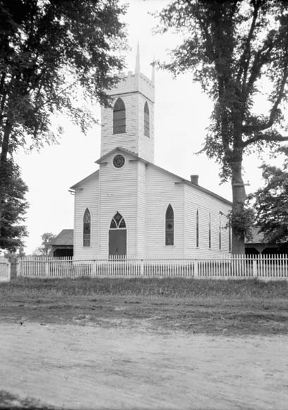 Christ Church of England, Burritt's Rapids, Ontario. (item 1)