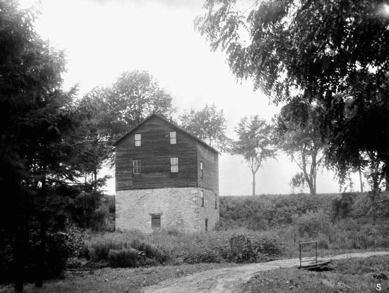 Grist Mill, St. Davids, Ontario. August, 1925. (item 1)