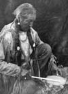 Image of a Peyote drummer