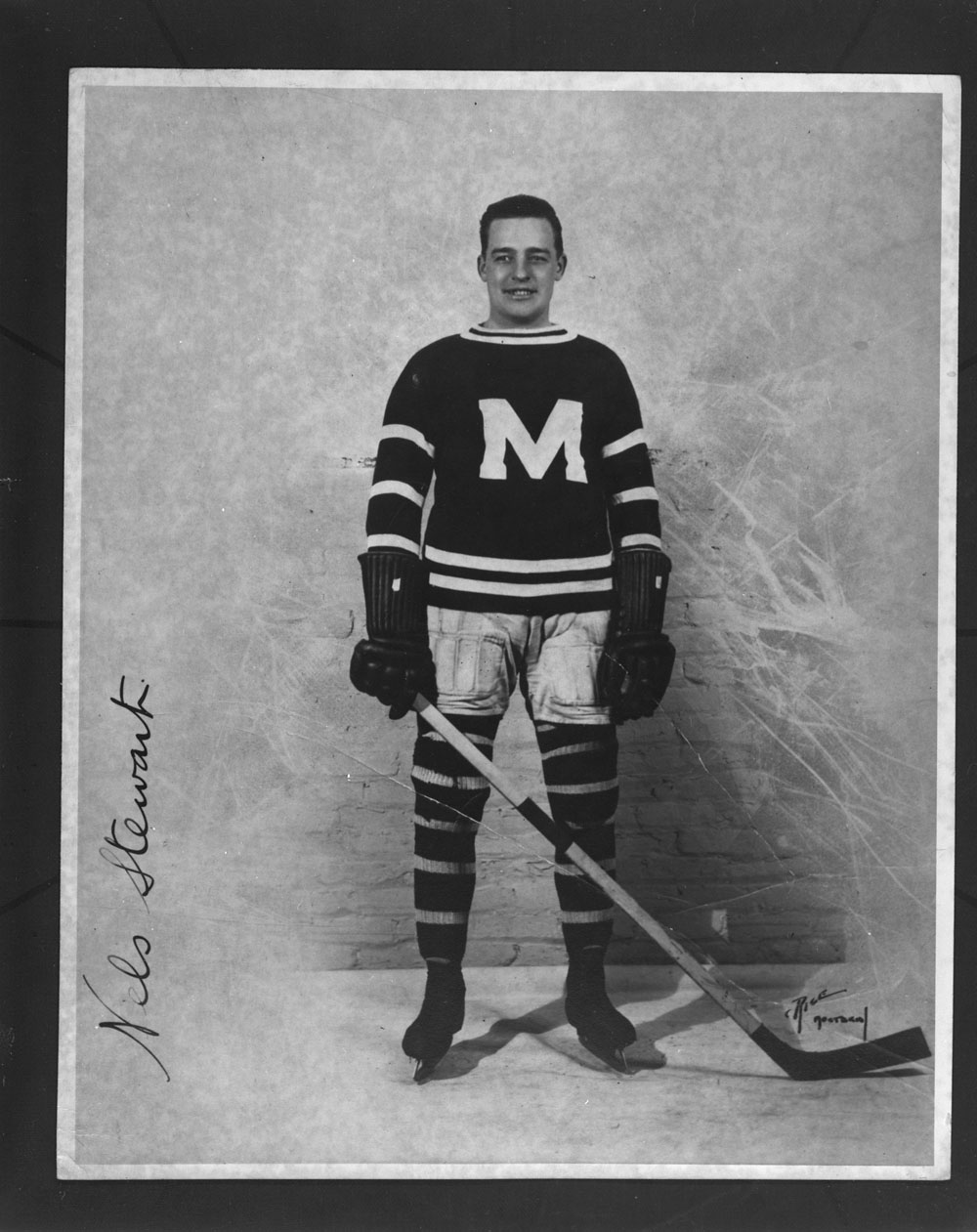 Photo of Nels Stewart during the 1925 1926 season