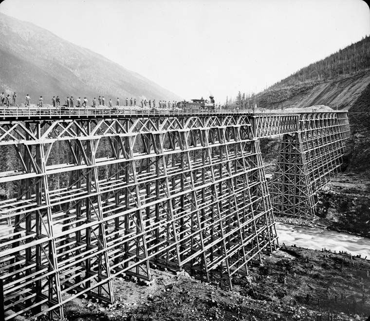 Canadian Pacific Railway bridge. (item 1)