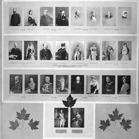 Governors-General of Canada and their Wives since Confederation. (item 1)