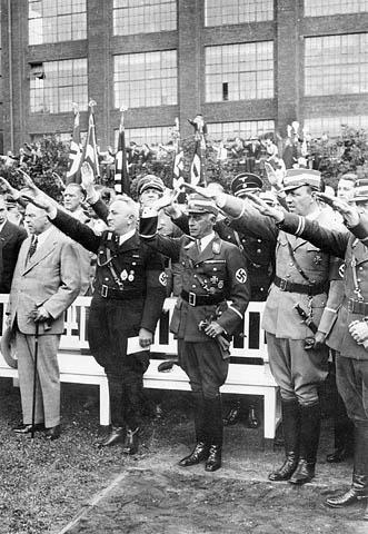 Allemagne Nazie Hitler JO 1936