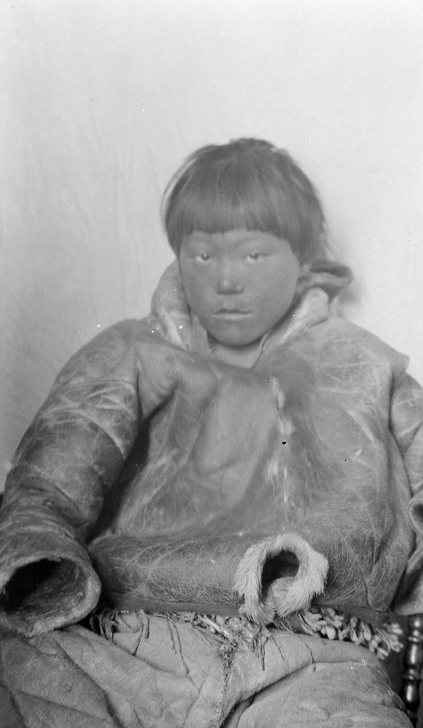 Unidentified Eskimo boy. (item 1)