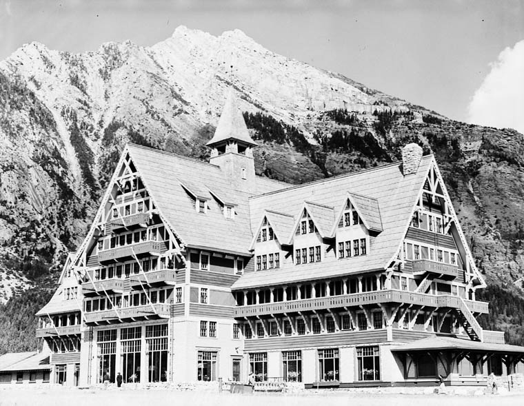 Prince of Wales hotel, Waterton Lakes National Park. (item 1)