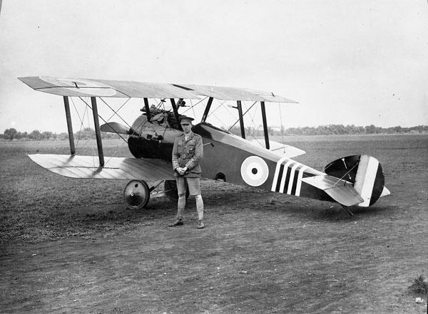 William George Barker, 1918