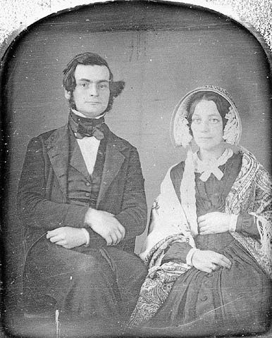 Samuel Leonard Tilley (1818-1896) and his first wife, Julia Ann Hanford (d. 1862) (item 1)