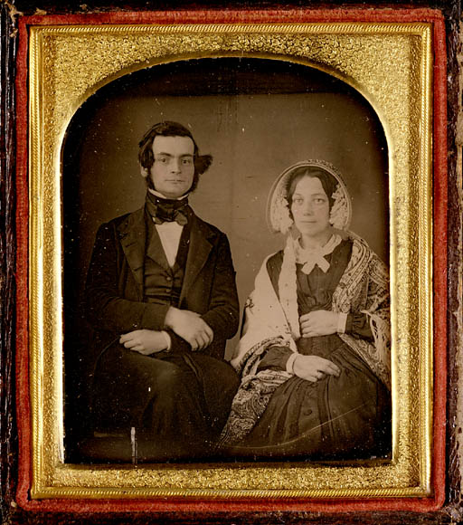 Samuel Leonard Tilley (1818-1896) and his first wife, Julia Ann Hanford (d. 1862) (item 2)