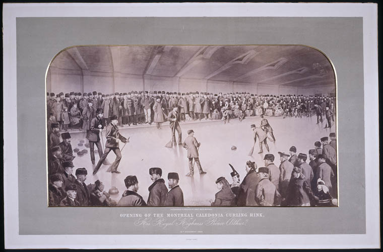 Opening of the Montreal Caledonia Curling Rink by His Highness Prince Arthur. (item 1)
