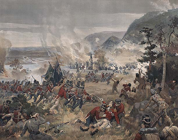 The battle of Queenston Heights, October 13, 1812