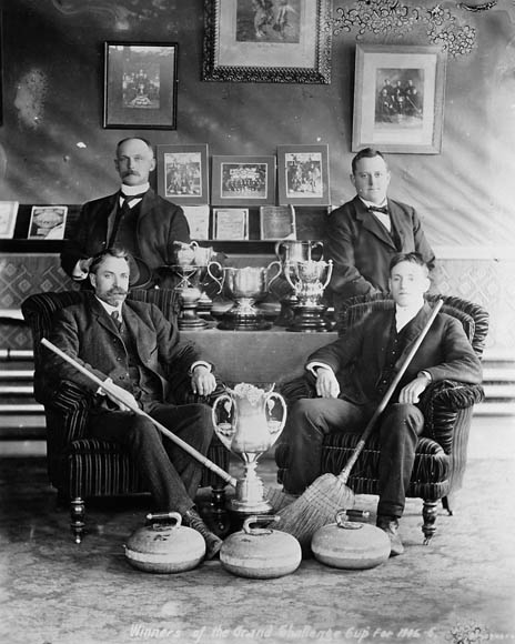 Winners of the Grand Challenge Cup for 1905-06. (item 1)
