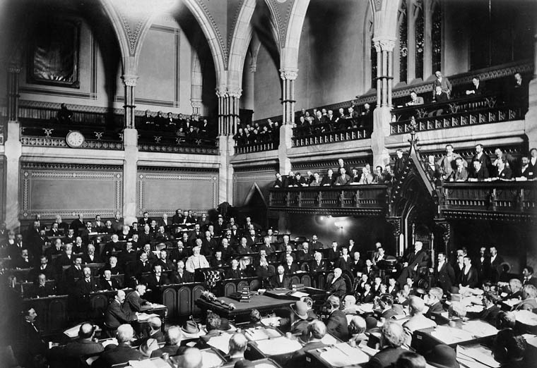 Interior view of the House of Commons, Session 1897. (item 1)