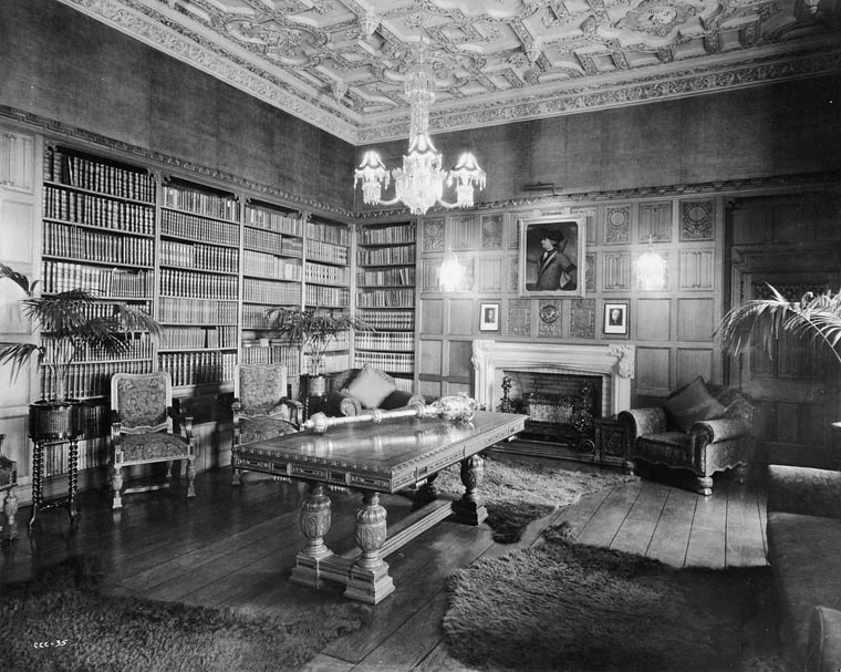 The Speaker's Office, Centre Block, Parliament Buildings (the Mace is exposed on the table) (item 1)