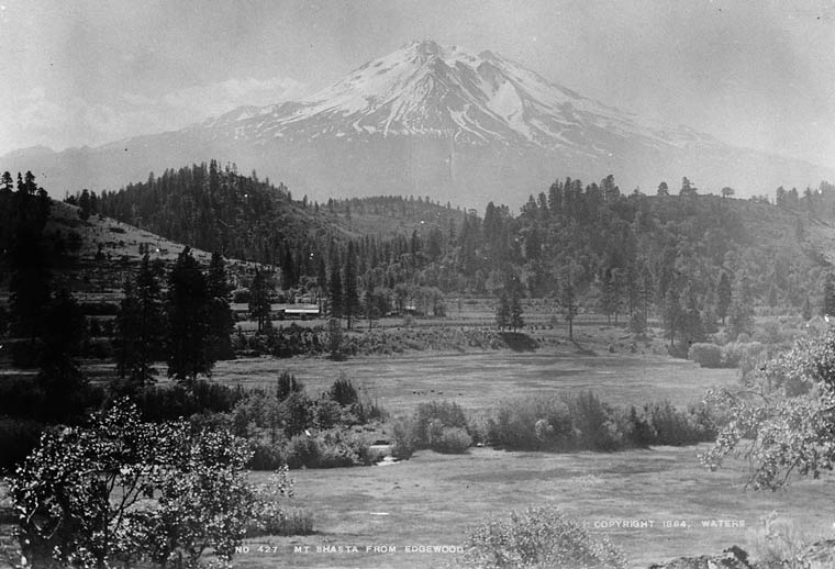 Mt. Shasta from Edgewood [California.]. (item 1)