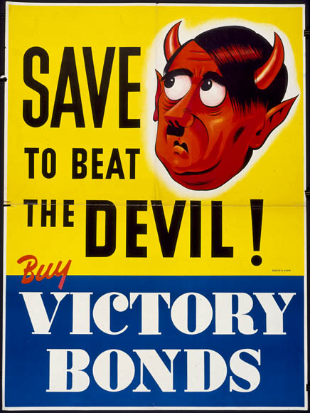 Save to Beat the Devil! :  victory loan drive. (item 1)