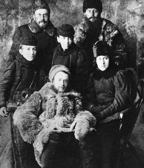 Friends of the Doukhobors in winter dress. (item 1)