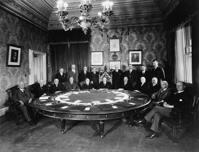 Cabinet Meeting, Privy Council Chamber, East Block. (item 1)