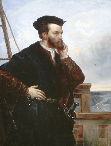 Imaginary portrait of Jacques Cartier. (item 2)