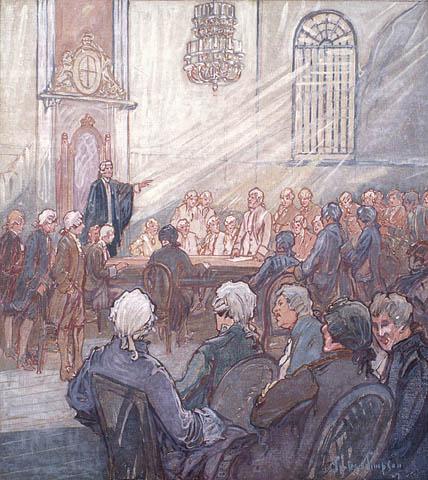 L'Assemblée législative du Bas-Canada (chapelle du Palais épiscopal), ville de Québec. (item 1)