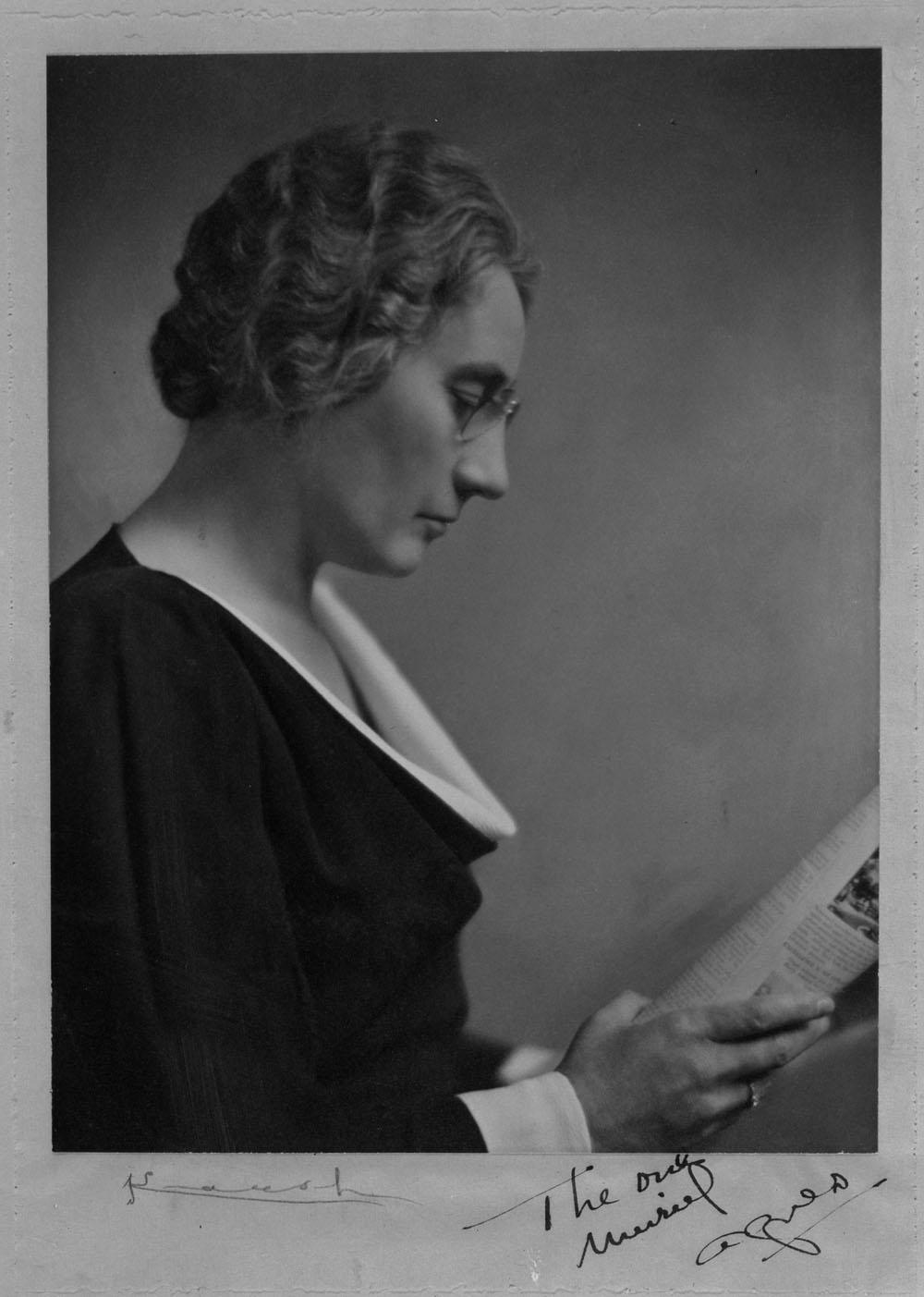 Portrait de Agnes Macphail