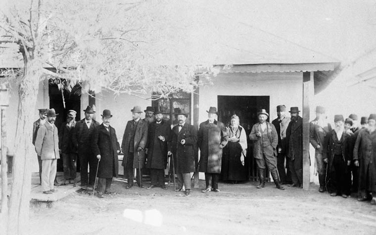 Romanian Jews near Jassy. (item 1)