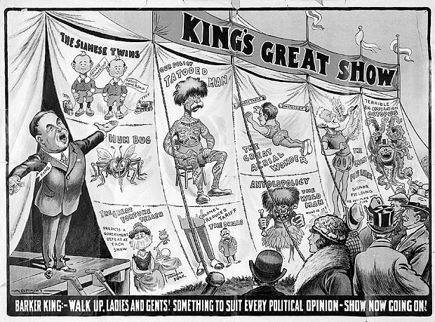 King's Great Show. (item 1)