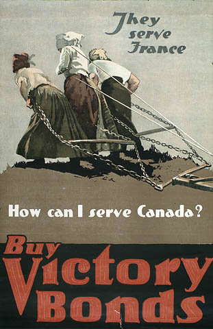 « They Serve France - How Can I Serve Canada? » :  campagne d'emprunts de la victoire. (item 1)