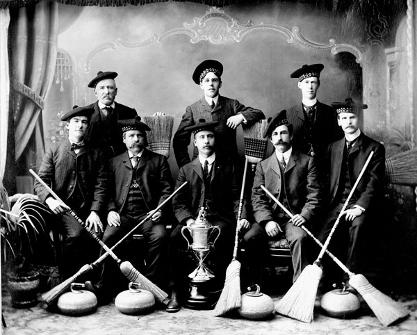 District Champions, Orillia, Ont., 1905. (item 1)