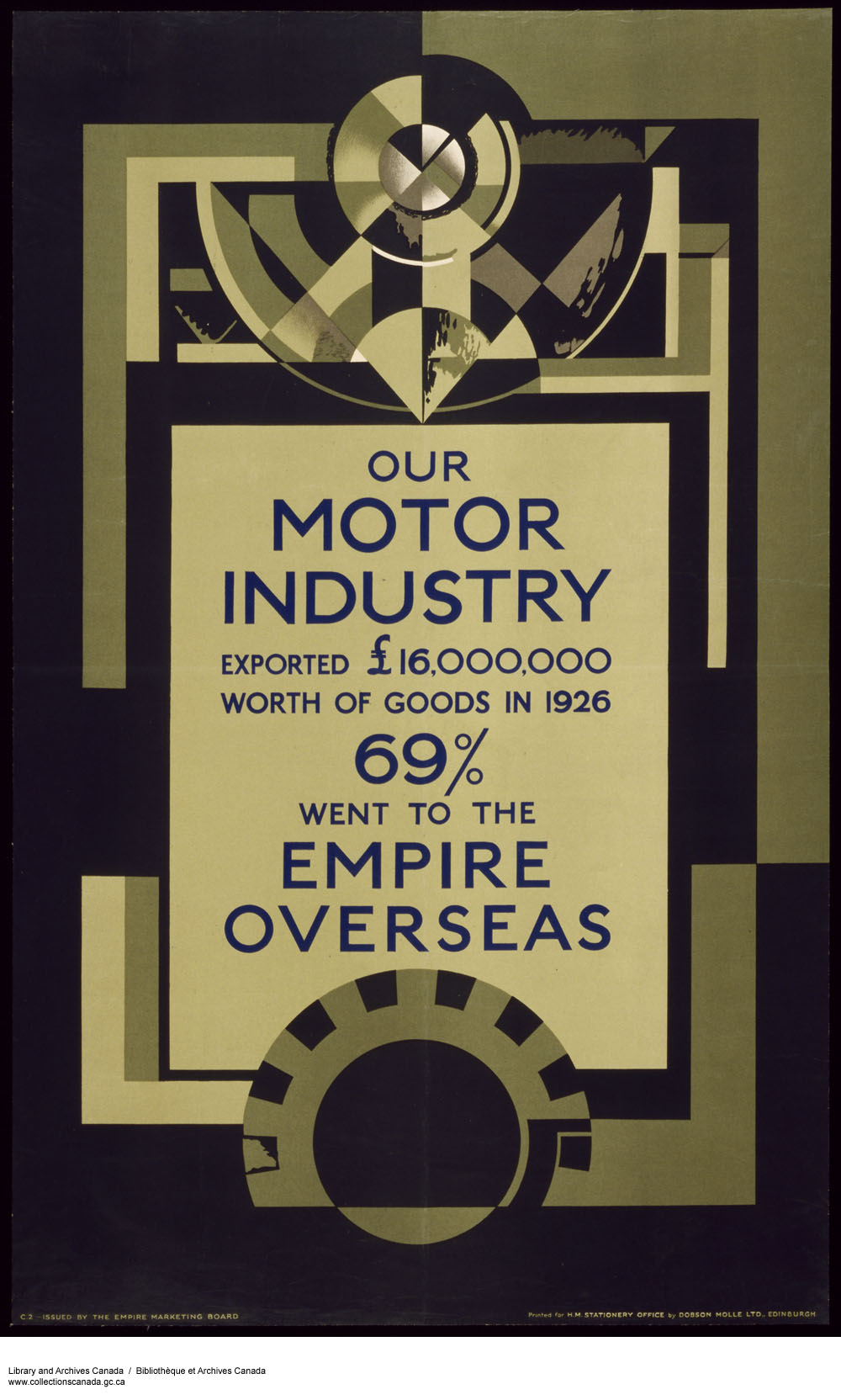 Our Motor Industry :  Empire Overseas Motor Industry. (item 1)