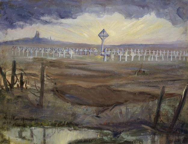 Cemetery of the 7th Battalion, British Columbia, Canada - Mary Riter Hamilton