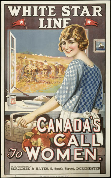 White Star Line - Canada's Call to Women. (item 1)