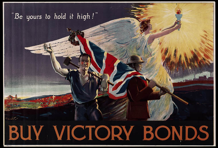 Be Yours to Hold it High, Buy Victory Bonds. (item 1)