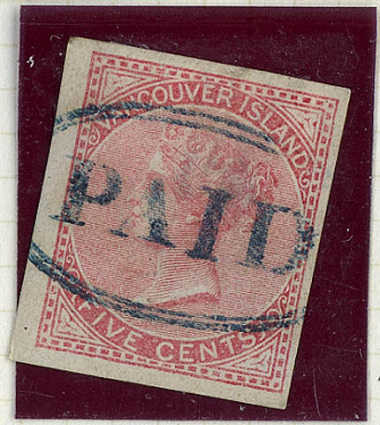 [Queen Victoria] [philatelic record] : [forgery]. (item 1)