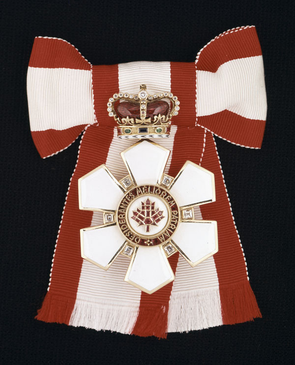 Sovereign Badge of The Order of Canada. (item 1)