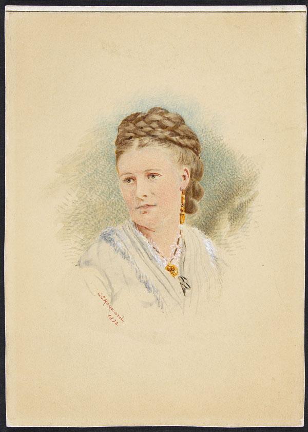 Portrait of Emma Tupper Cameron (Mrs. Donald Roderick Cameron) (item 1)