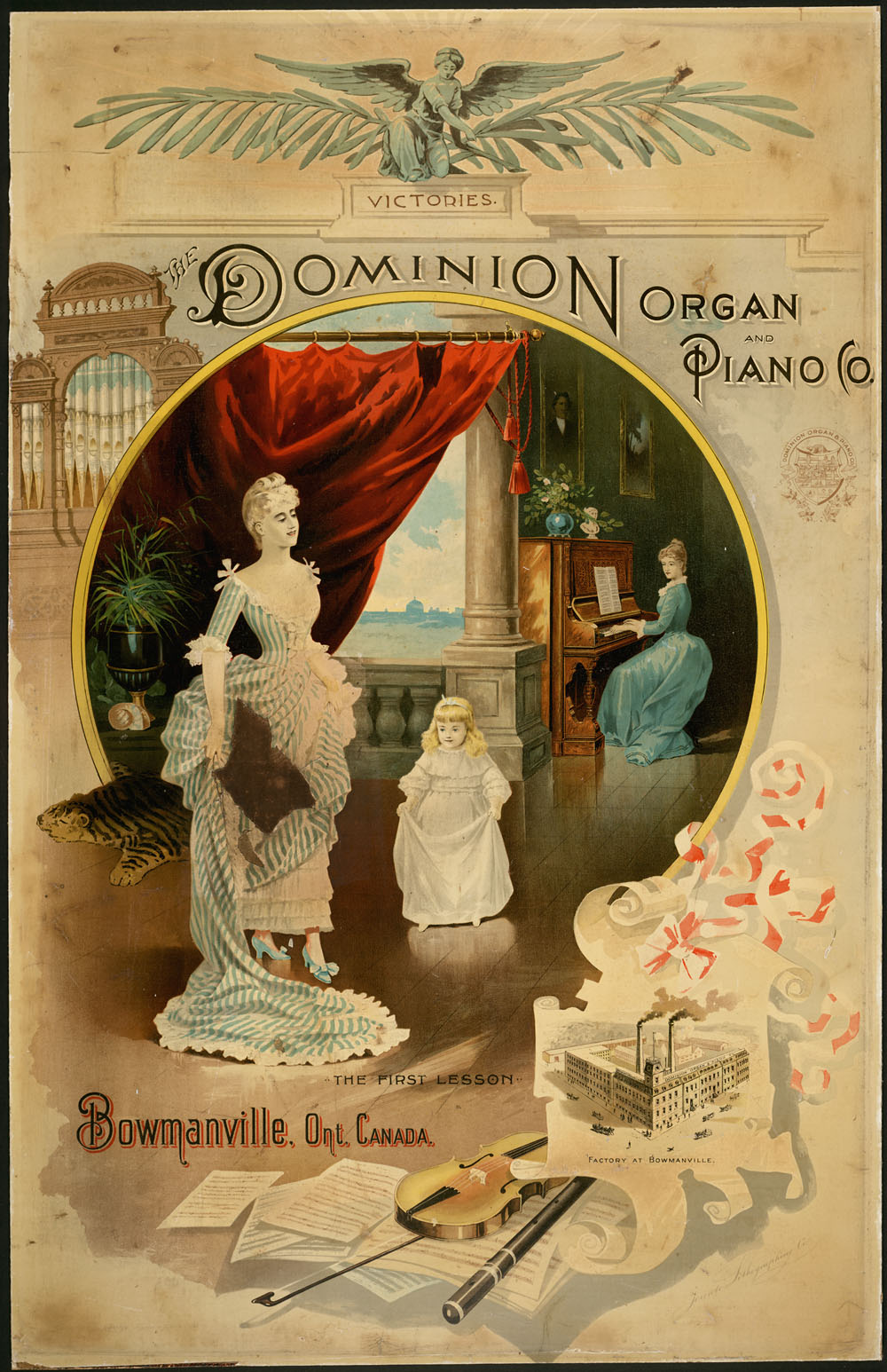 Dominion Organ and Piano Company. (item 1)