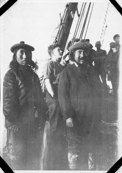 First Inuit to come on board C.G.S. Arctic. (item 1)