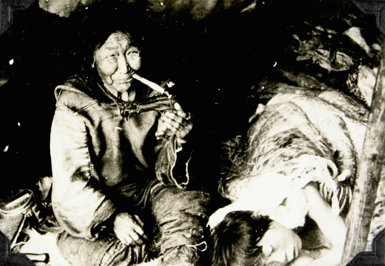 [Kalluk and son, Nutarakituq], 1952. (item 1)