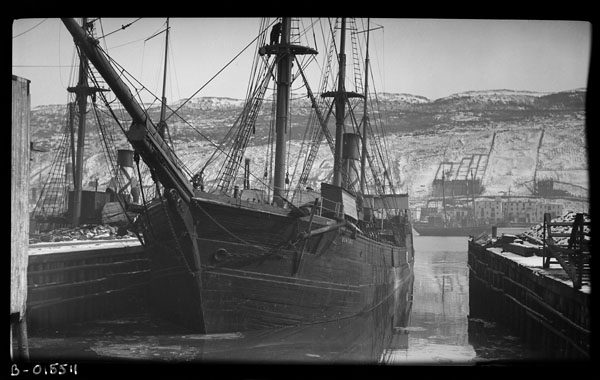 Newfoundland sealing ship VIKING. (item 1)