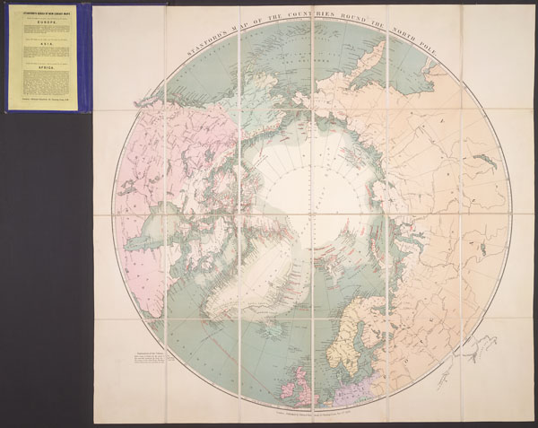 Stanford's map of the countries round the North Pole [cartographic material]. (item 1)