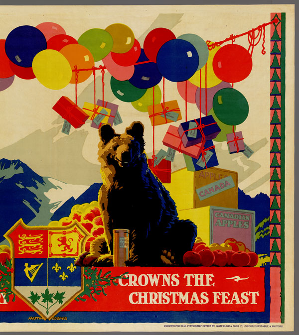 « The Produce of the Home Country Crowns the Christmas Feast ». (item 1)