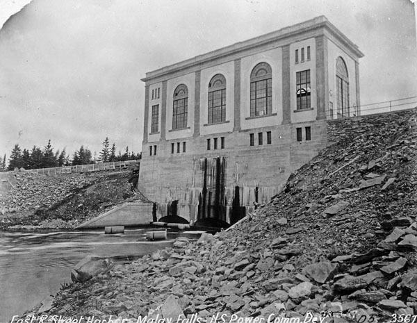 Nova Scotia Power Co. Worley Falls, East River, Steel Harbour . (item 1)