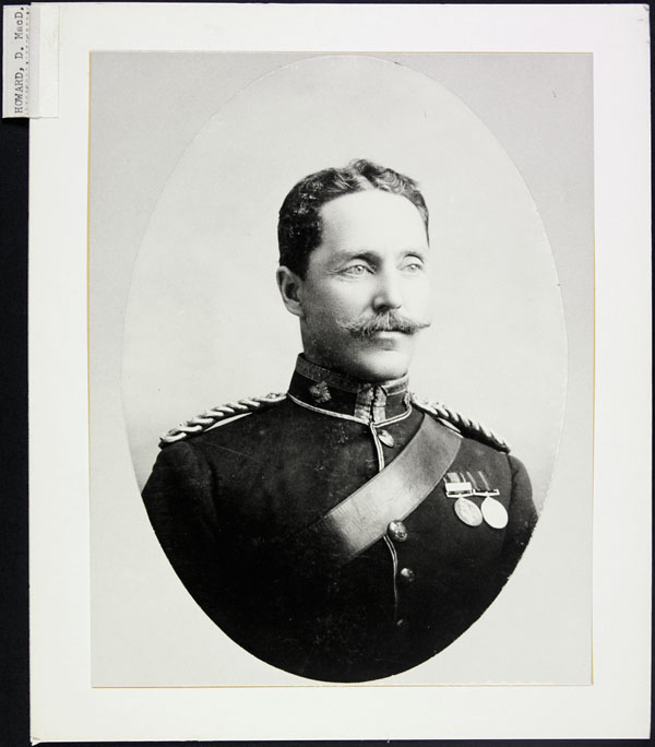 Donald Macdonald Maclean-Howard, served 1890-1920. (item 1)